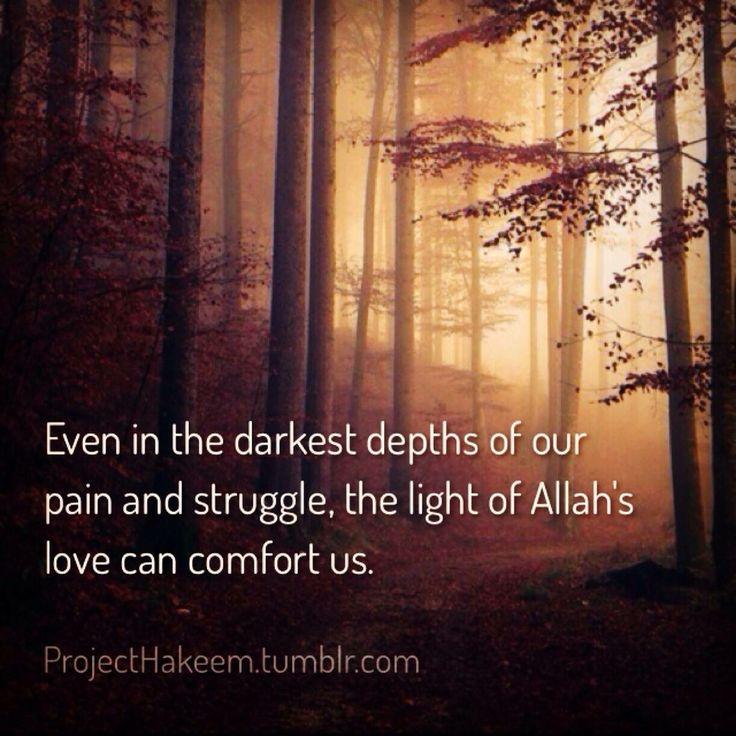 The light of Allah's love
