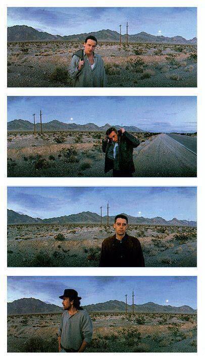 U2, photoshoot for The Joshua Tree album.
