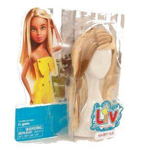 LIV: Doll Wig Accessory - Blonde & Brown Hairstyle by Spin Master. $10.99. Blonde and brown hair. Age 5+. Interchangable wig for Liv Dolls (sold separately). Interchangeable wig for Liv Dolls (sold separately).  Age 5+