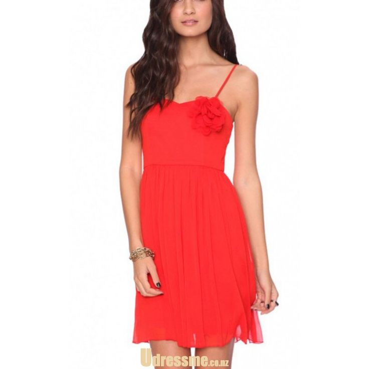 A-line Knee length Chiffon Bridesmaid Dresses nz