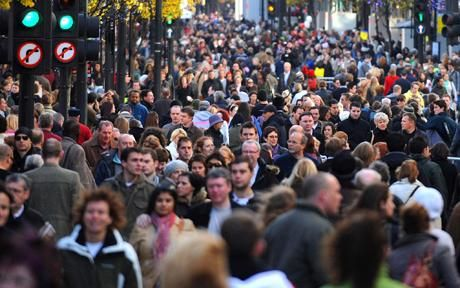 Pollsters Ipsos MORI found that the UK is one of the countries most worried about the pressure placed on public services by rising immigration levels, with 59 per cent concerned.