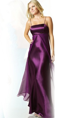 BM purple dress