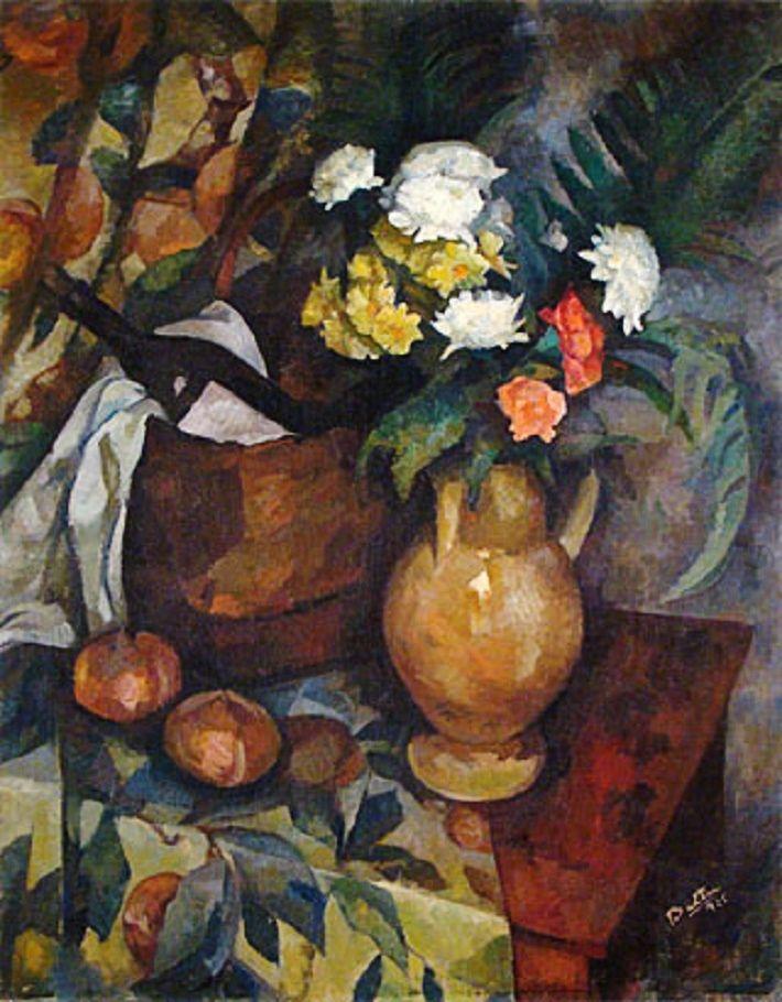 Jarrón con flores (1925) Horacio Butler