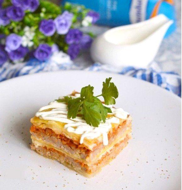 Голубцы по-итальянски или капустная лазанья - Kurkuma project (Проект Куркума) Из самых простых ингредиентов получается шедевральное блюдо. Очень вкусно и оригинально. Отличный способ выпендриться перед подругами!