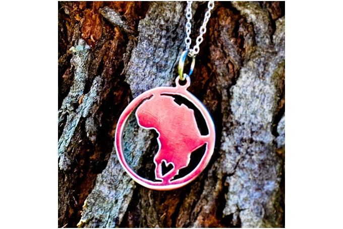 Sterling Silver Africa by GloveJewellery on hellopretty.co.za