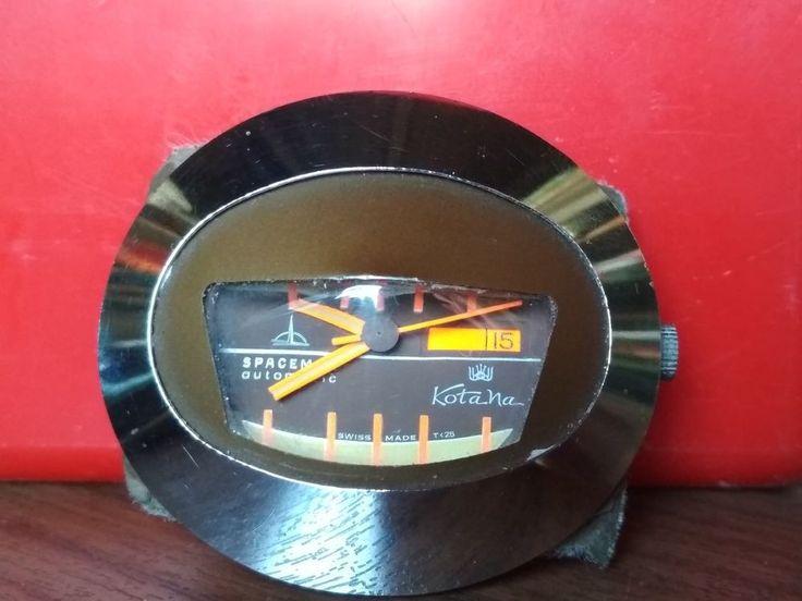 Vintage Spaceman Automatic Kotana Swiss Made T25
