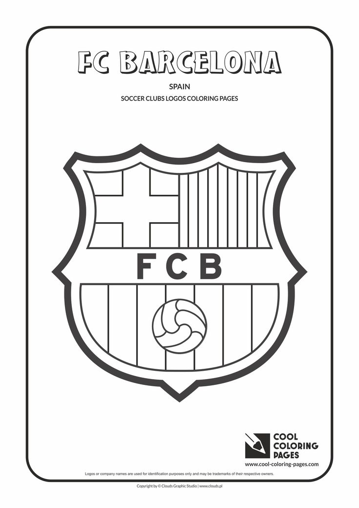 coloring pages barcelona fc tickets - photo#2