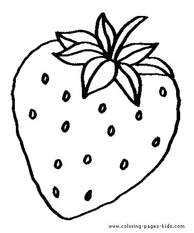 find this pin and more on theme it strawberry party printable fruits strawberry coloring pages - Pages To Colour In