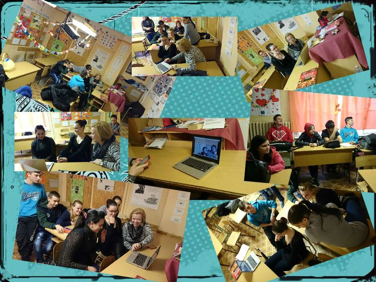 Today we met Eva and her group on Skype :)