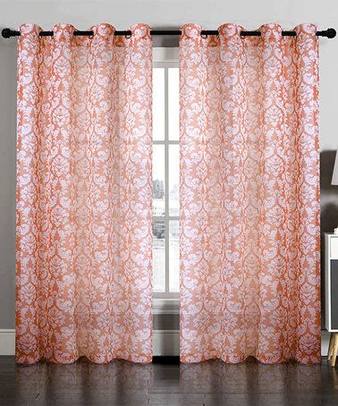 17 Best ideas about Damask Curtains on Pinterest | Damask bedroom ...