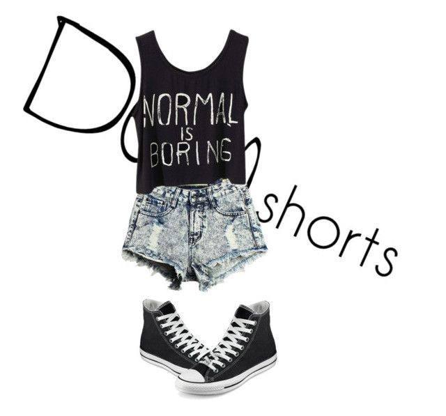 denim:black  and  white by jmarshall0023 on Polyvore featuring art, jeanshorts, denimshorts and cutoffs
