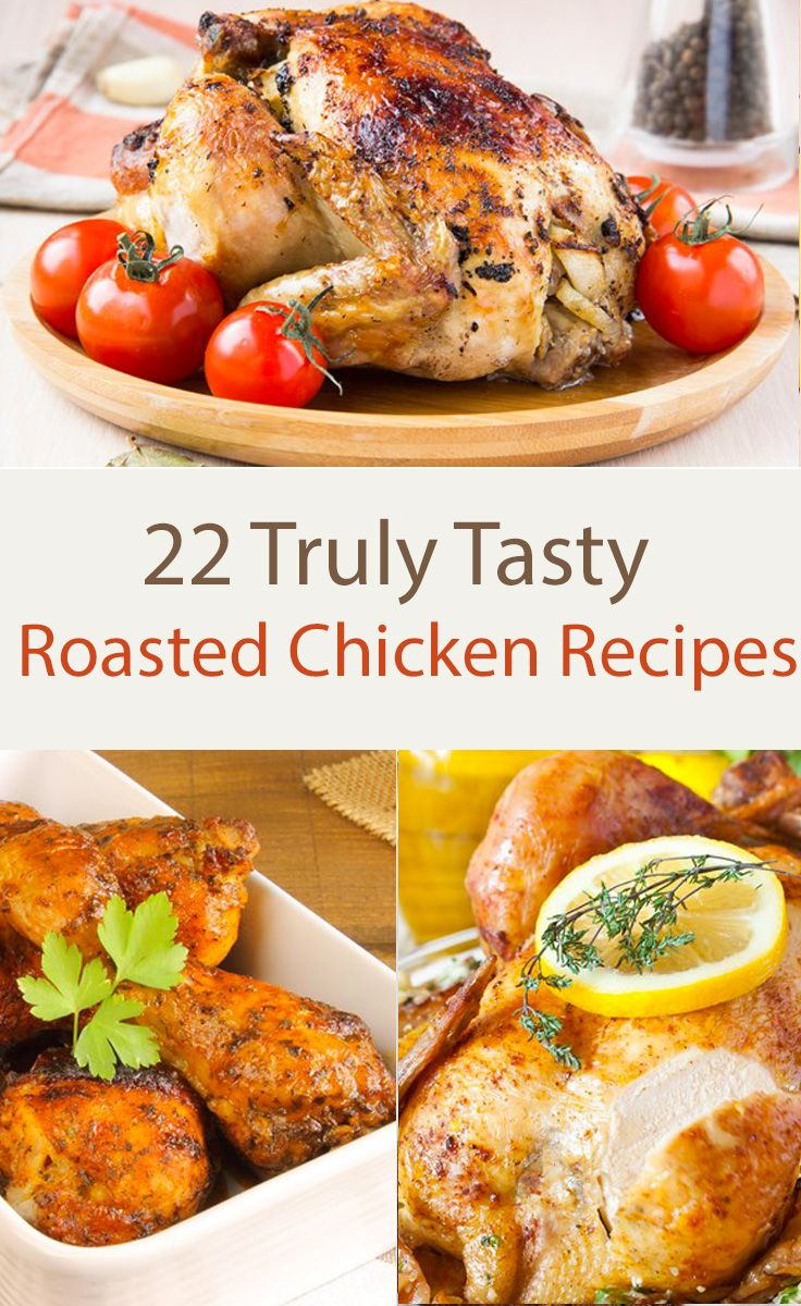 It's time to spice up your chicken life! Try these flavorful recipes and change the way you cook this go to meal. 1. Quick Herb Roasted Chickenkitchme.comQui