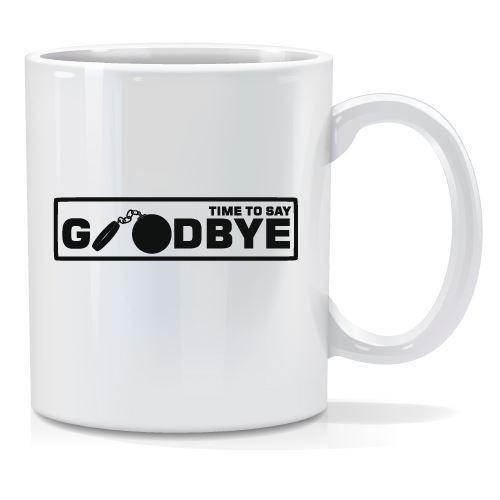 Tazza personalizzata Time to say goodbay