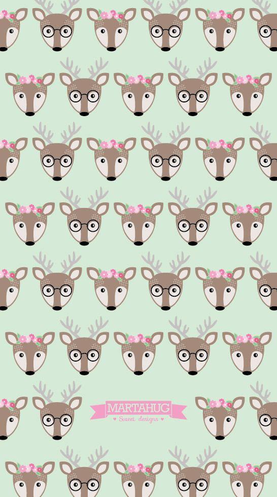 Oh my Deer! MARTAHUG wallpaper