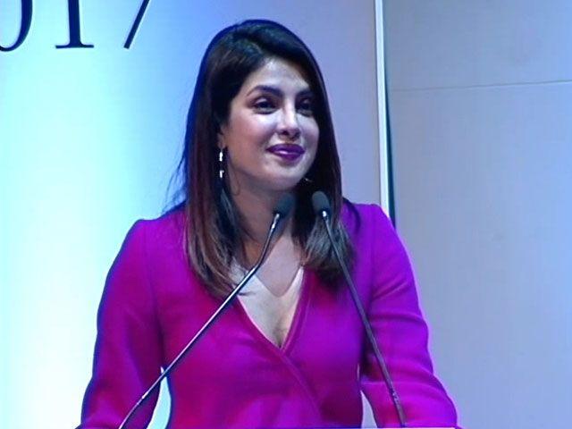 Priyanka Chopra speaks on breaking the glass ceiling