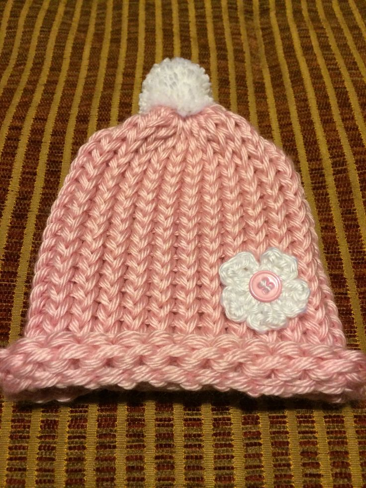 Loom Knitting Baby Hat Patterns : Best images about knitting on pinterest stitches