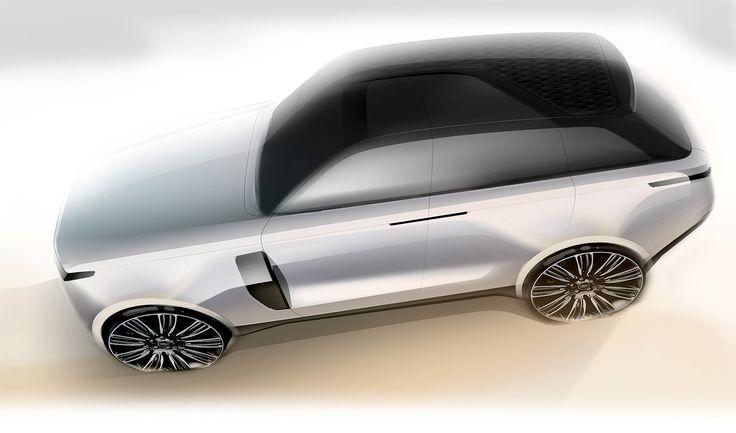Range Rover on Behance