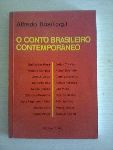 livro o conto brasileiro contemporâneo alfredo bosi