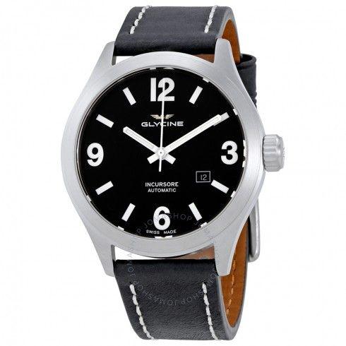 Glycine Incursore Automatic Black Dial Men's Watch GL0045