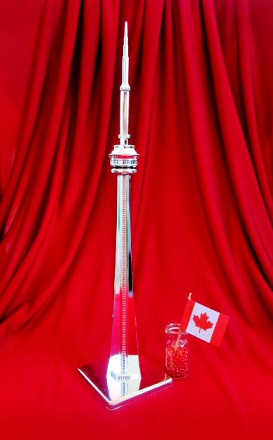CN Tower, Toronto, Canada miniature figurine