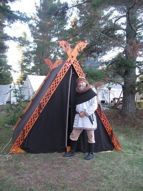 Viking Tent Viking Pinterest