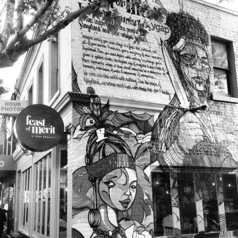 Feast of Merit street art