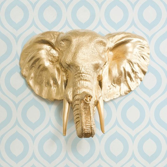 Gold Elephant Wall Decor : Best images about elephants on brooches
