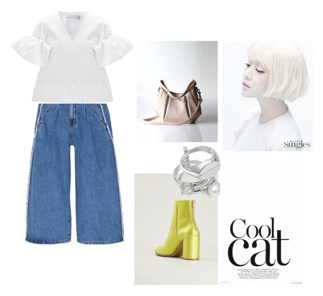"""""""Coot Cat"""" by opelle-creative on Polyvore featuring Steve J & Yoni P, Victoria, Victoria Beckham, Maison Margiela, women's clothing, women, female, woman, misses, juniors and opellebags"""