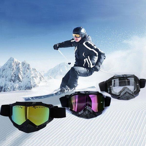 THB025 Full HD1080P Snow Ski Skiing Goggles Video Camera Google Sports - US$78.89