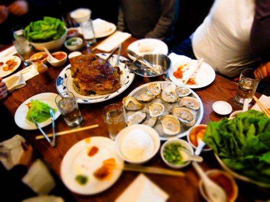 bo ssam dinner | Yelp