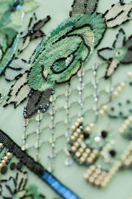 Vionnet bag Lesage Level II again, other colour, other lady...