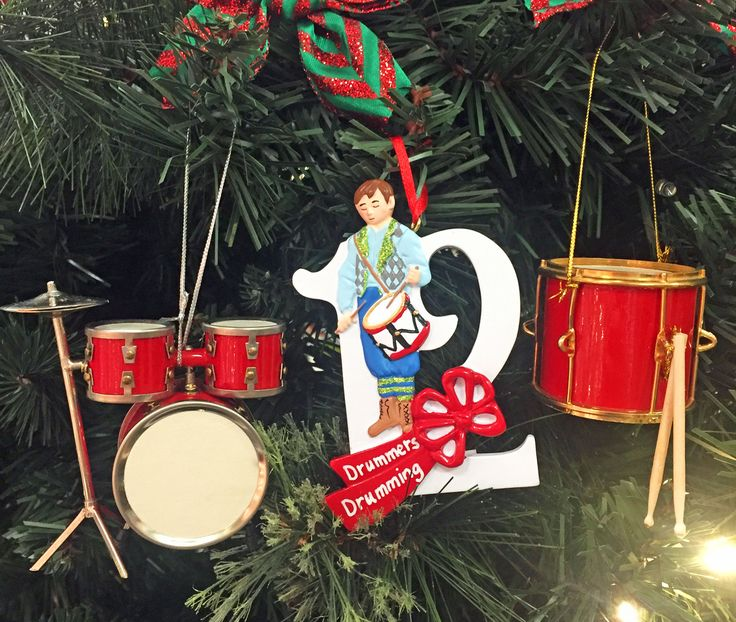 Marching Band Christmas Ornaments Part - 35: On The 12th Day, A Marching Band Appeared! #ChristmasInJuly  #12DaysofChristmas #drumming