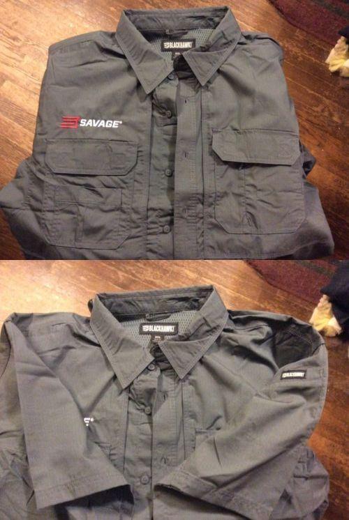 Shirts and Tops 177874: Blackhawk - Pursuit Range Shirt Men S Short Sleeve Shirt Savage Arms Emblem 3Xl -> BUY IT NOW ONLY: $44.95 on eBay!