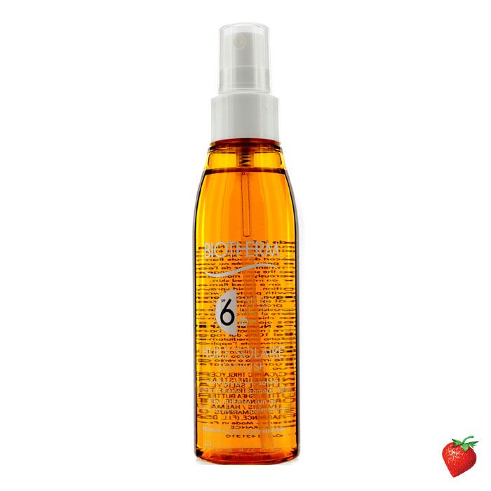 Biotherm Huile Solaire Soyeuse SPF 6 UVA/UVB Protection Sun Oil 125ml/4.22oz #Biotherm #Skincare #Bronzer #SummerSpecials #Summer #Beach #Beauty #HotPick #FREEShipping #StrawberryNET