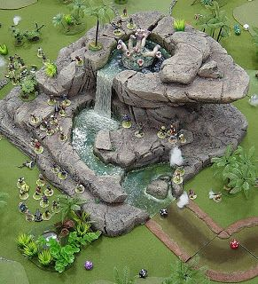 The blogspot of Warren Ludwig.  Amazing fantasy miniatures and landscapes, plus super great tutorials on creating miniature landscapes with pink insulating foam, hot glue and acrylic paint.