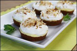 Mini Coconut Cream Pies...yep Hungry Girl!