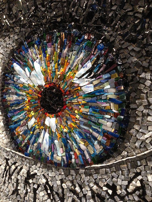 Les mosaïstes au Grand Palais! | atelier de mosaïque gironde, babylon mosaic…