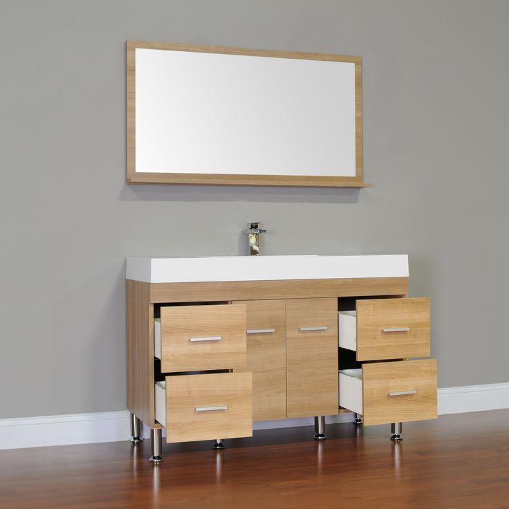 7 best alya bath at 8042 lo modern bathroom vanity light oak images on pinterest modern for Modern bathroom vanities for less