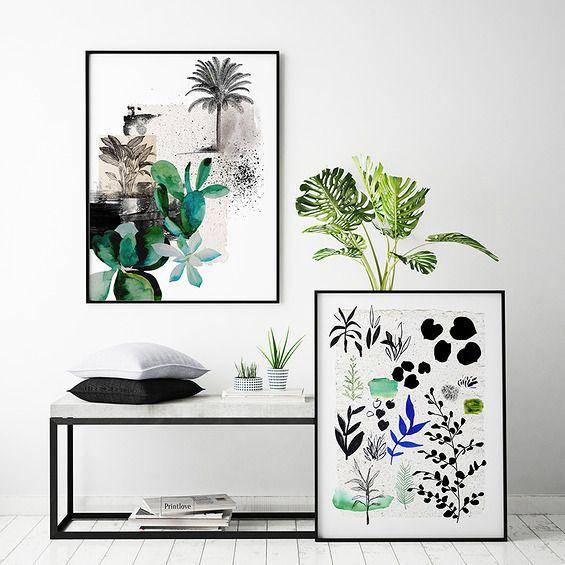 DYPTYK - Printlove - grafiki do wnętrz, ilustracje dla dzieci, plakaty. -