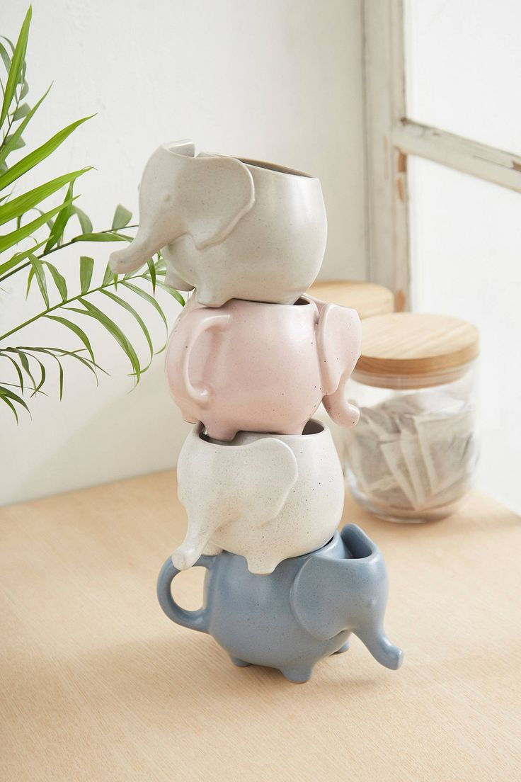 Elephant Tea Mug | Urban Outfitters | Home & Gifts | Kitchen & Bar | Glasses & Mugs #urbanoutfitterseu #UOEurope