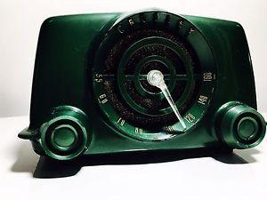RADIO a Valvole CROSLEY 1951 Bachelite Verde Made in CANADA | eBay