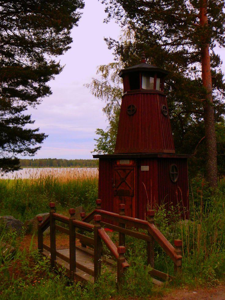 Little lighthouse near Villa Elba. #kokkola