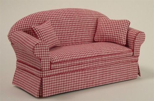 Red Plaid Sofa Chairs Loung Bench Sof 193 S Pinterest