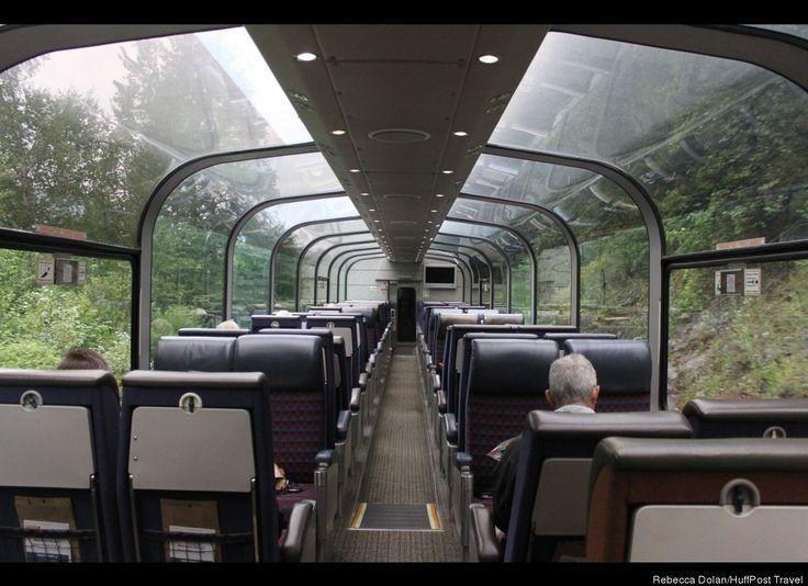 Like going through a tunnel of trees ~ http://www.viarail.ca/en