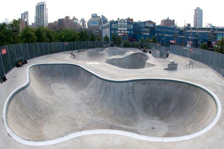Chelsea Piers skatepark - Pier 62 Skate Park Manhattan | newyorkcityskateparks.com