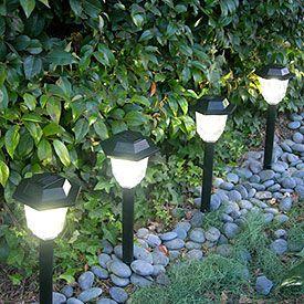 17 mejores ideas sobre luces solares en pinterest for Iluminacion para jardines energia solar