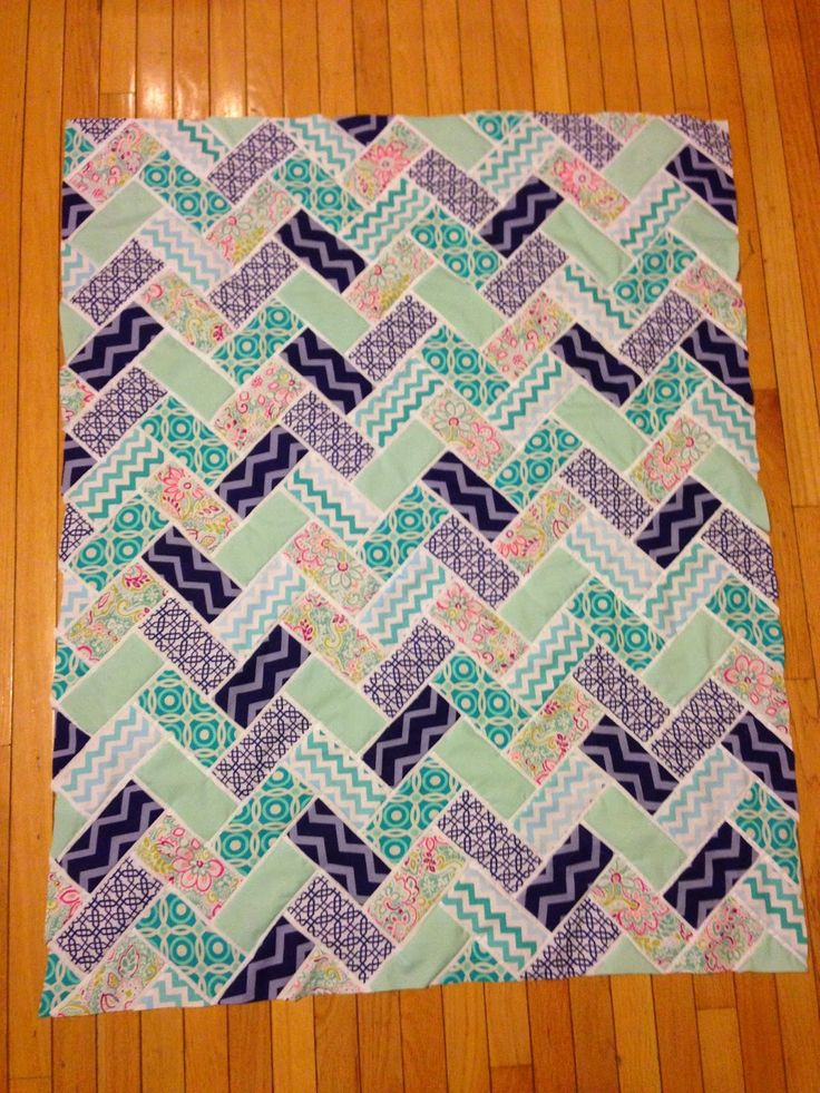 Lindsey Edits: Broken Herringbone Quilt: Work in Progress Part 4
