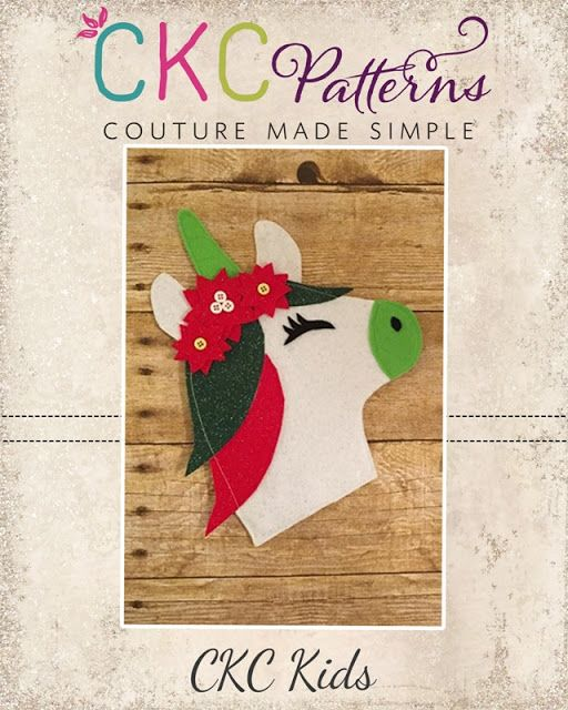 Create Kids Couture: 5th Day of Christmas: Unicorn Pencil Pouch