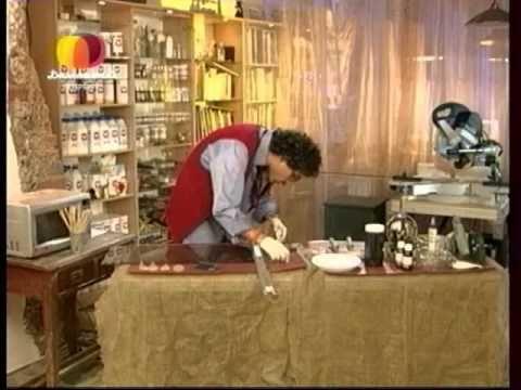 Декоративные страсти с Маратом Ка 2008-2009 Тумба с Листьями - YouTube