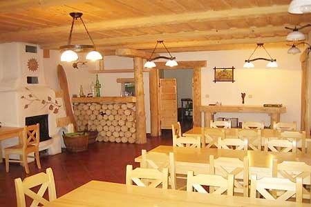 Penziony Šumava - Penzion u Boubína na Šumavě - restaurace